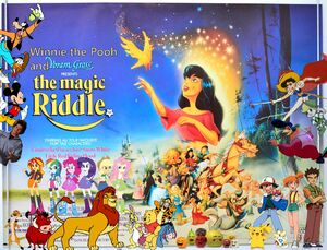 Winnie the Pooh and the Magic Riddle Poster
