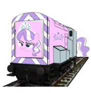 MLP Diamond T as a Thomas and friends character