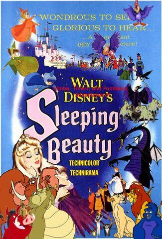 File:Simba, Timon, and Pumbaa's Adventures of Sleeping Beauty poster.jpg