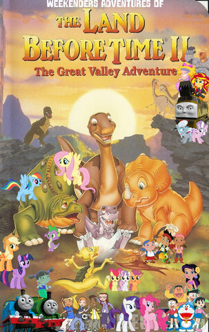 File:Weekenders Adventures of The Land Before Time 2- The Great Valley Adventure (Remake)-0.jpg