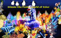 Winnie The Pooh's World of Color Poster