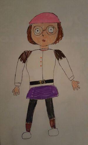 Meg Griffin in her Derek outfit