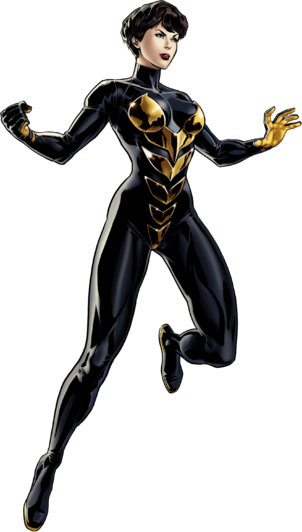 Janet van Dyne (Earth-12131) 001