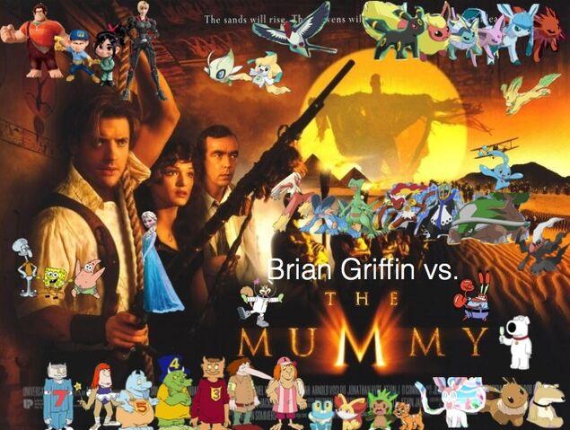 File:Brian Griffin vs. The Mummy.jpg