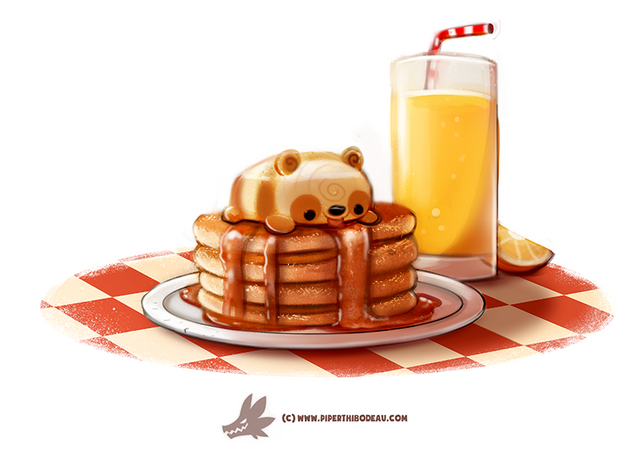 File:Daily paint 1271 pandcakes by cryptid creations-da2mkjd.png