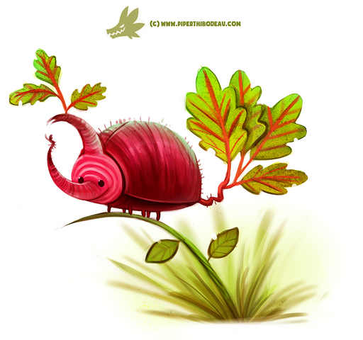 File:Daily paint 1206 beet le by cryptid creations-d9urr3p.png