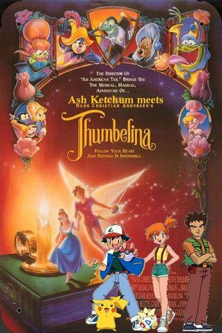 File:Ash Ketchum meets Thumbelina Poster.jpg