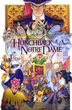 Winnie the Pooh Meets The Hunchback of Notre Dame Poster
