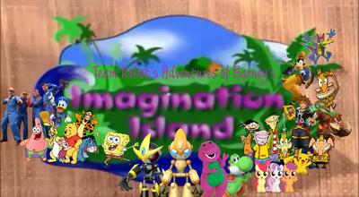 Team Robot's Adventures of Barney's Imagination Island Poster