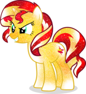 Galaxy sunset shimmer by digiking202-d7o8jx4