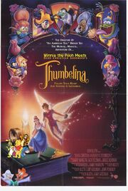Winnie the Pooh Meets Thumbelina Poster