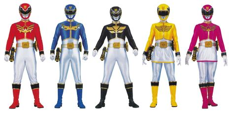Megaforce Rangers 1st