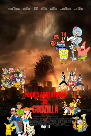 File:Pooh's Adventures of Godzilla Poster.png