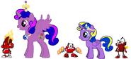 Princess Lilly Sparkle Rose, Princess Twila and The Infernites