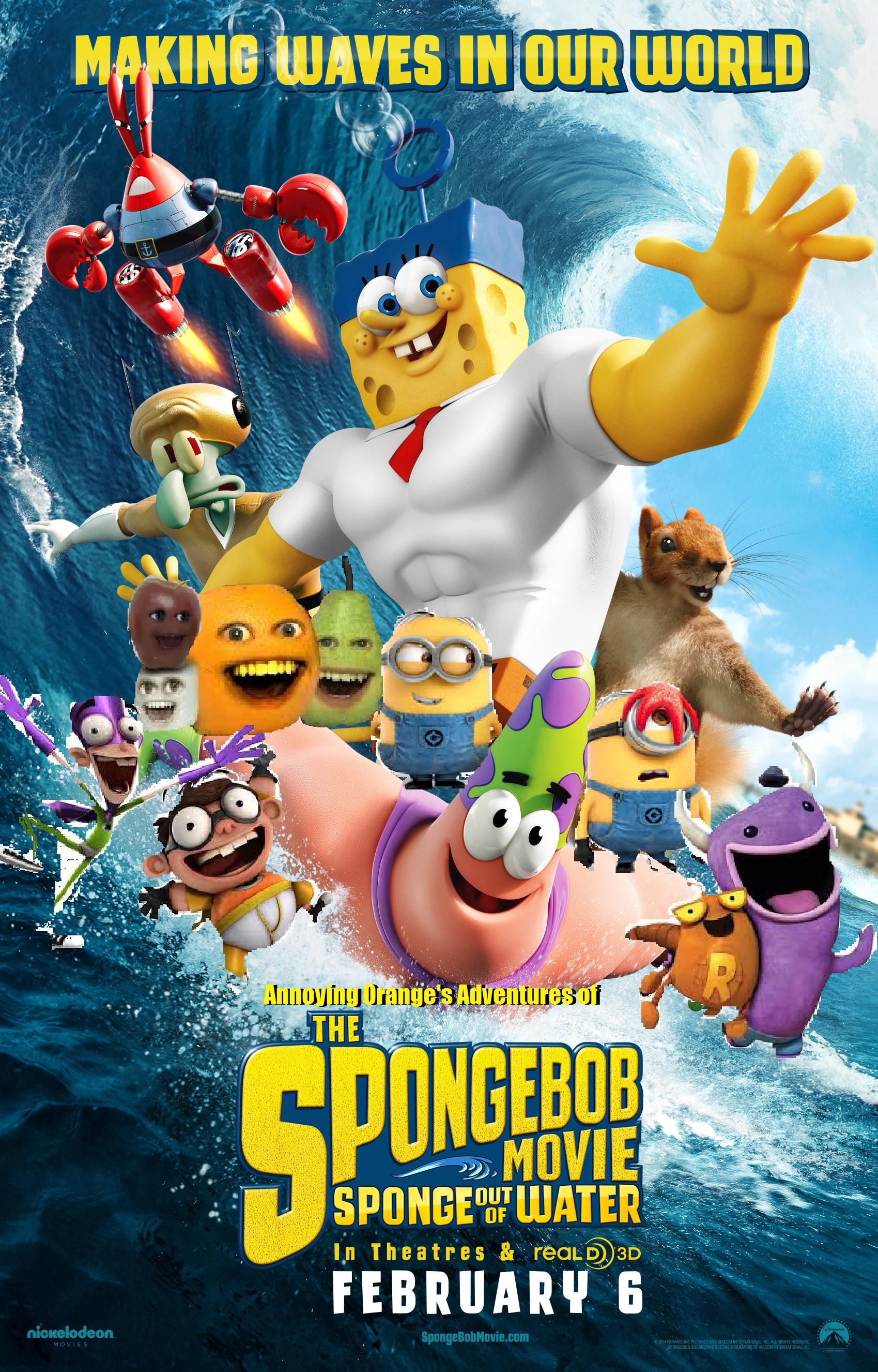 "NickALive!: Nickelodeon Unveils New ""The SpongeBob Movie ... |Spongebob Movie Poster"