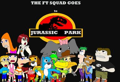 The FT Squad Goes to Jurassic Park