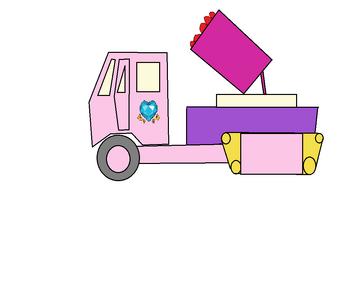 Princess Cadance's rocket lancher truck