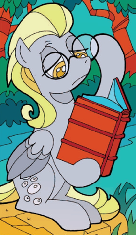 File:Derpy in an alternate universe.png