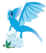Snowdrop and her dragons