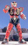 Red Dragon Thunderzord Warrior Mode