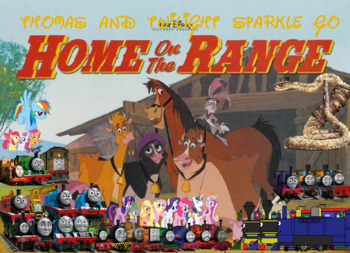 Thomas and Twilight Go Home on the Range