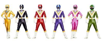 Six geo rangers
