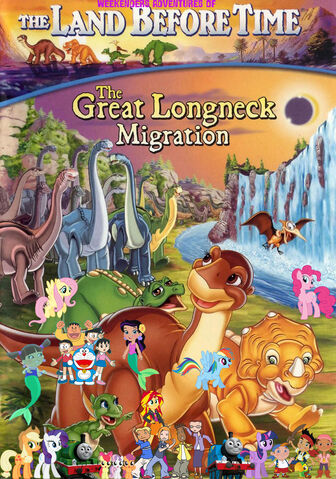 File:Weekenders Adventures of The Land Before Time 10- The Great Longneck Migration (remake poster).jpg