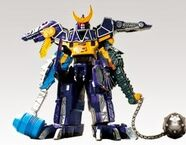Spino Charge Megazord Ankylo Pachy Formation