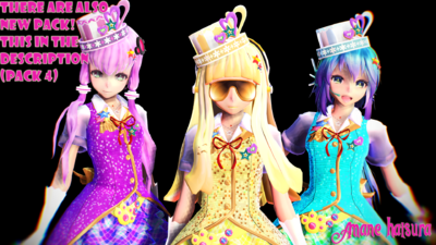 Mmd tda magical girls 5 download by amanehatsura-d8g3sof