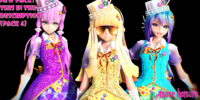 MMD Magical Girls, Set 4