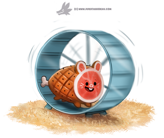 File:Daily paint 1228 ham ster by cryptid creations-d9xi08j.png