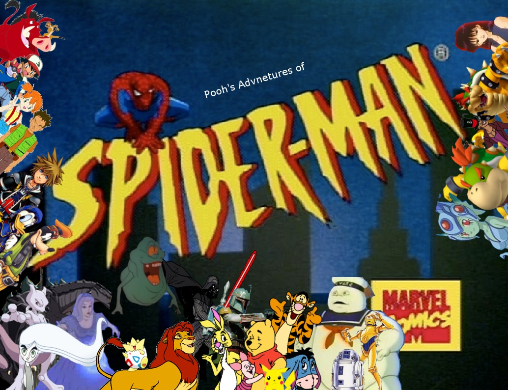 Pooh's Adventures of Spider-Man TAS Title Card