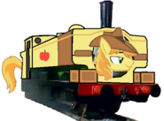 MLP Braeburn as a Thomas and Friends character