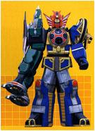 Samurai Storm Megazord