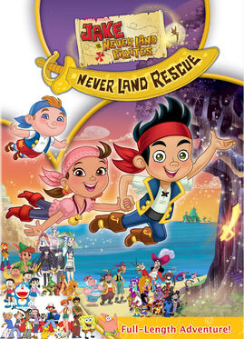 Weekenders, Jake and the Never Land Pirates- Jake's Never Land Rescue