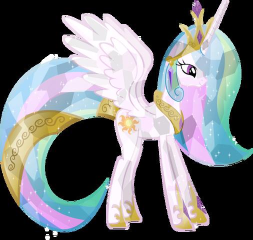 File:Crystal Princess Celestia.png
