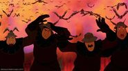 Frollo's guards' defeat 6