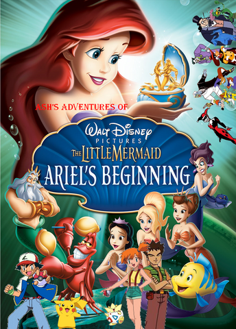 File:Ash's Adventures of The Little Mermaid - Ariel's Beginning Poster.png