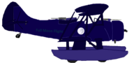 Full Moon Flight with Pontoons