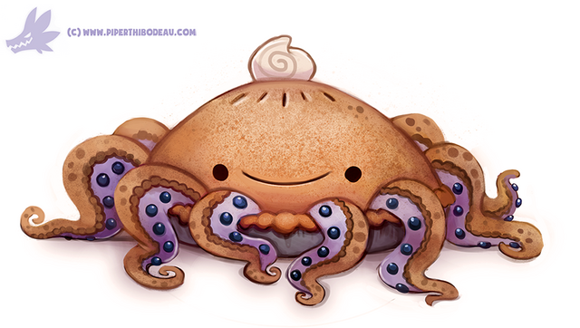 File:Daily paint 1155 octopie by cryptid creations-d9omann.png