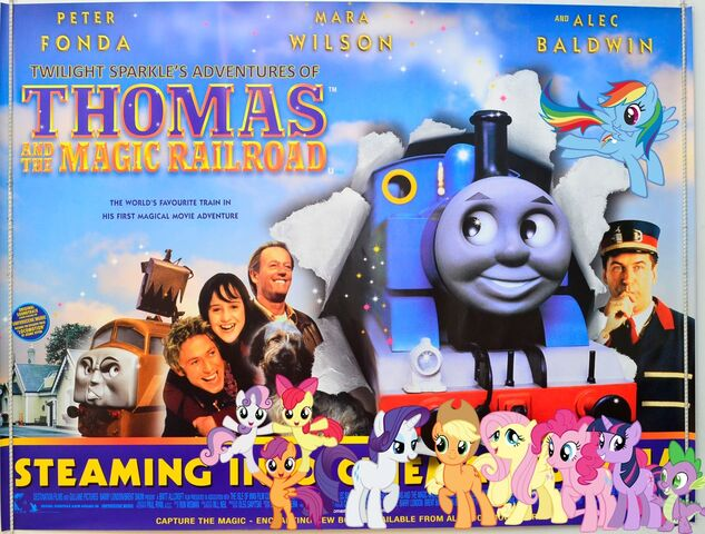 File:Twilight Sparkle's Adventures of Thomas and the Magic Railroad Poster.jpg