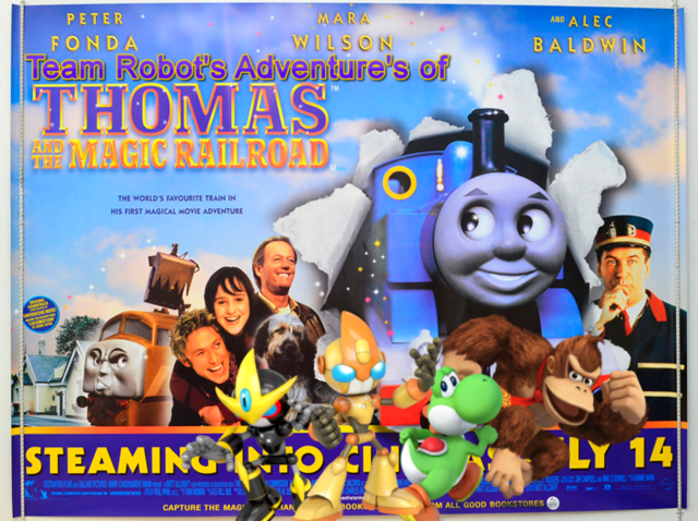 File:Team Robot's Adventure's of Thomas & The Magic Railroad Poster.png
