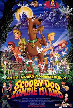 Weekenders Adventures of Scooby-Doo on Zombie Island (Remake 3) Poster