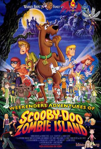File:Weekenders Adventures of Scooby-Doo on Zombie Island (Remake 3) Poster.jpg