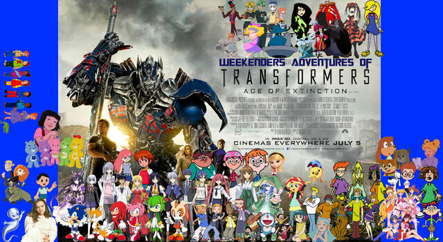 File:Weekenders Adventures of Transformers- Age of Extinction (Redo Poster).jpg