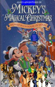Alex's Adventures of Mickey's Magical Christmas Snowed in at the House of Mouse poster