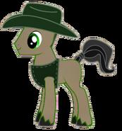 Freddie as a pony