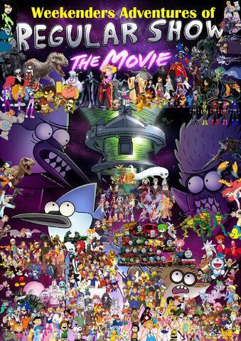 File:Weekenders Adventures of Regular Show- The Movie (remake poster).jpg