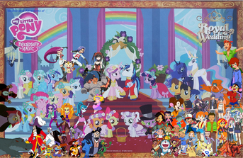 Weekenders Adventures of My Little Pony Friendship is Magic- A Canterlot Wedding
