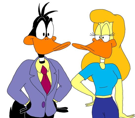 File:Daffy Duck and Melissa Duck.jpg
